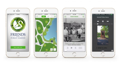 Boston Public Garden: Walking Tour iBeacon Installation & App