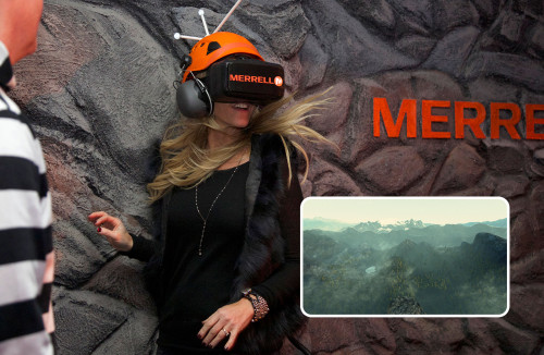 Merrell: Trailscape Virtual Reality Installation