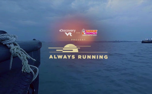 "Dunkin' Donuts – ""Always Running"" Discovery VR Partnership"